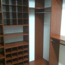 Closet Storage by Wilson Lumber Company