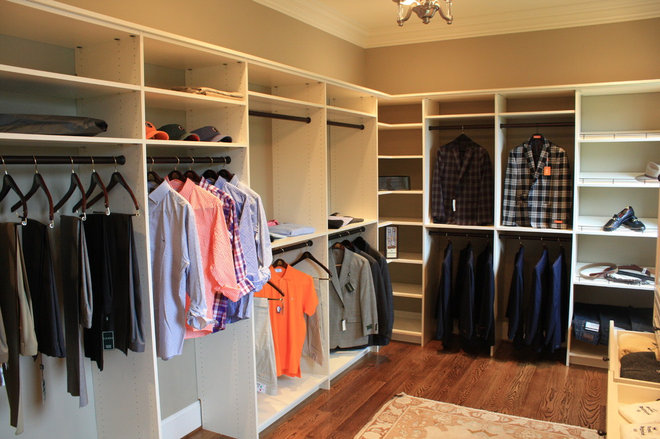 Traditional Closet by Wildwood Cabinetry