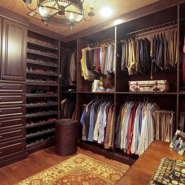 Closet with Office