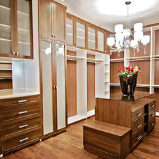 Traditional Closet by Accent Closets Inc