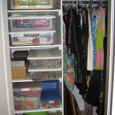 Traditional Closet by Room Rescue