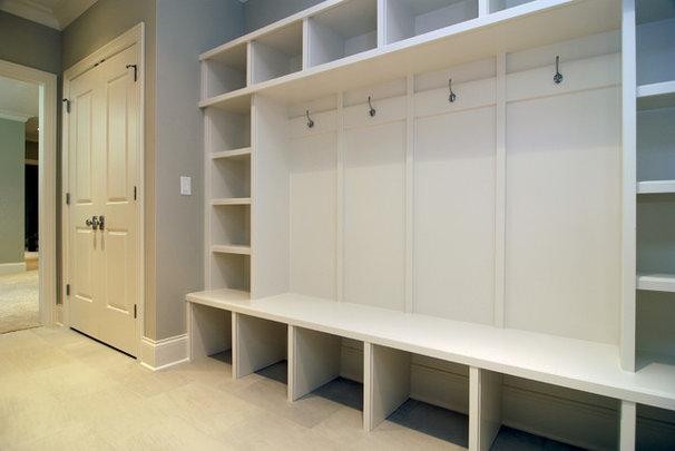 Traditional Closet by Vertex Properties LLC & Olson Development LLC