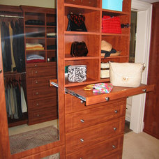 Traditional Closet by Closets & Things