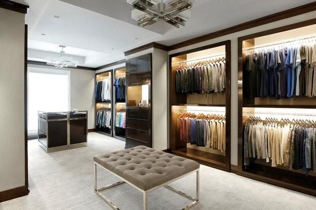 Contemporary Wardrobe by Austin Bryant Moore LLC.