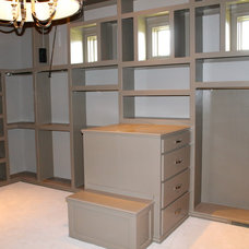 Traditional Closet by Richard Douglas Cabinets and Trim