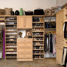 Traditional Closet by Organizers Direct
