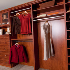 Traditional Closet by Cabinets Plus