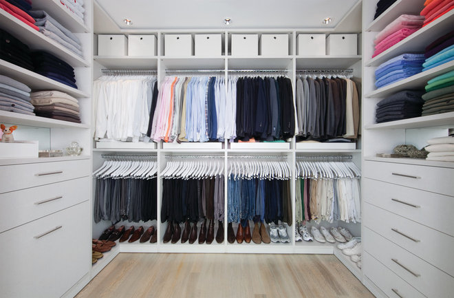Contemporary Wardrobe by California Closets - DC Metro
