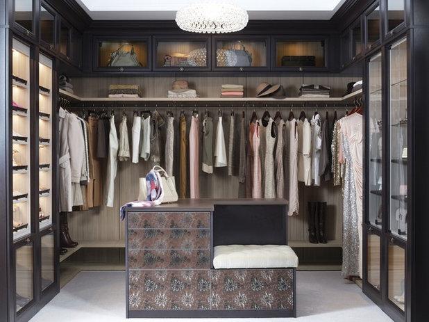 Transitional Wardrobe by California Closets