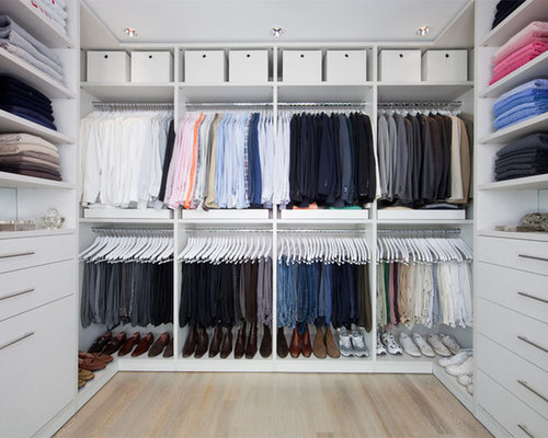 Elegant Example Of A Closet Design In Dallas
