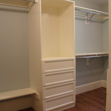 Traditional Closet by Custom Home Finish