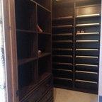 Dressing Room Shoe Closet - Traditional - Closet - New York - by transFORM Home