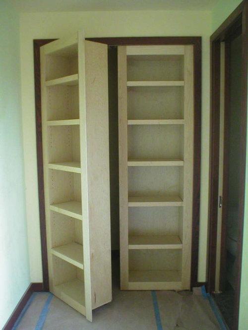 Oommate hiding in closet