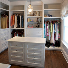 Traditional Closet by East End Country Kitchens