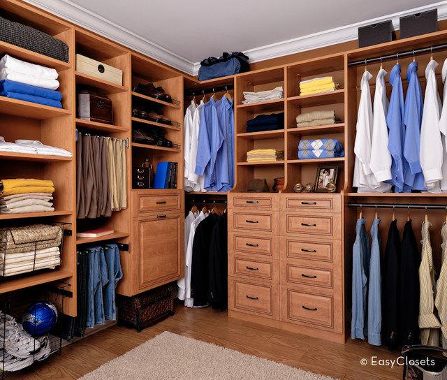 Contemporary Closet by EasyClosets