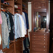 Traditional Closet by J & J Wood Products