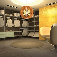 Contemporary Closet by Modu-Home LLC