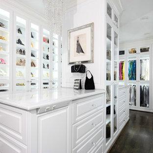 Modelo de armario y vestidor moderno grande