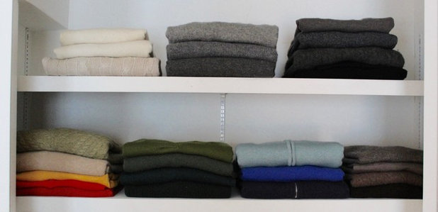 Traditional Closet by Spruce Professional Organizing, LLC
