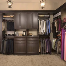 Modern Closet by Tailored Living featuring Premier Garage S Houston
