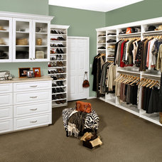 Traditional Closet by Tailored Living featuring Premier Garage S Houston