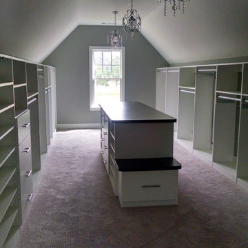 Closets with Sloped Ceilings