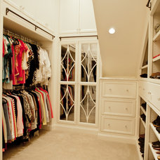 Traditional Closet by Woodham's Cabinet Shop, Inc.
