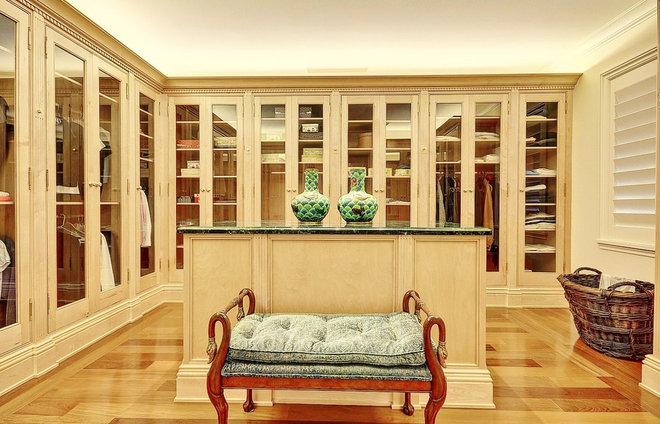 Traditional Closet by tuthill architecture