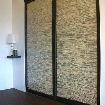 Coastal Branch Stack - Sliding Closet Doors / Room Dividers