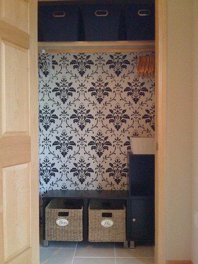 Contemporary Closet Coat closet for guests