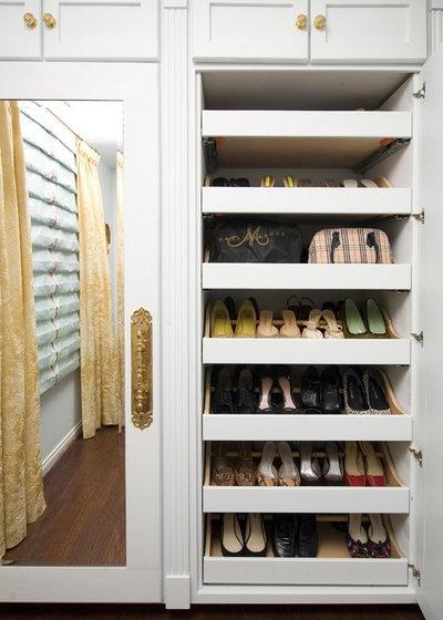 Traditional Closet by Armina Interiors