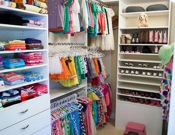 Colorado's Professional Organizers- Children's Closet Organization