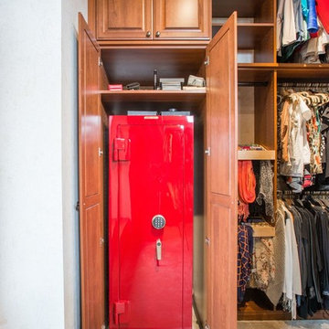 Colorado Springs Traditional Master Closet