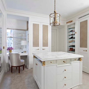 Combination & Renovation of a Fifth Avenue Apartment