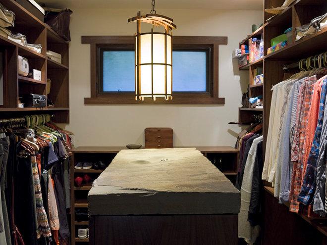 Contemporary Closet by Angela Dechard Design