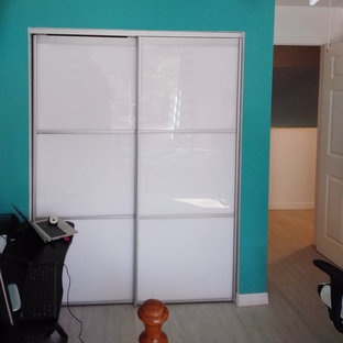 Tri Fold Door Clear All Trendy Closet Photo In Miami