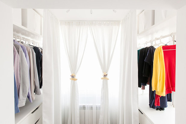 Contemporary Wardrobe by Black Fox Interiors