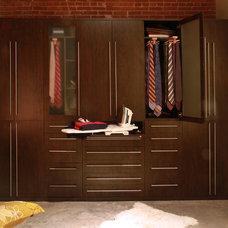 Contemporary Closet by Teresa Voyles - NewSpace