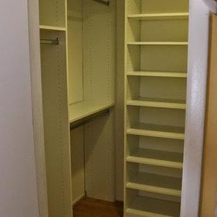Diseño de armario vestidor unisex, contemporáneo, de tamaño medio