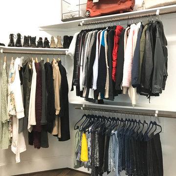 Conroe New Build Master Closet