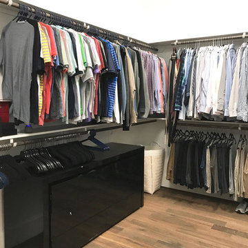 Conroe New Build Master Closet