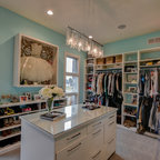 Reach-in Linen Closet - Contemporary - Closet - New York - by transFORM | The Art of Custom Storage
