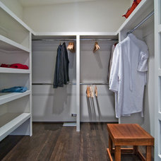 Contemporary Closet by BUILD LLC