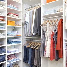 Contemporary Closet by California Closets HQ