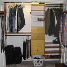 Contemporary Closet by California Closets Maryland