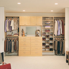 contemporary closet by California Closets Maryland
