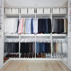 Contemporary Closet by California Closets - Triangle, Triad and NC Coast