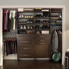 Contemporary Closet by ClosetMaid