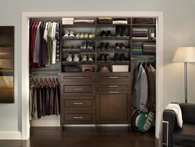 Contemporary Closet by ClosetMaid