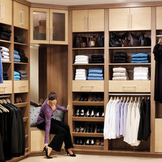 Contemporary Closet by Colorado Space Solutions